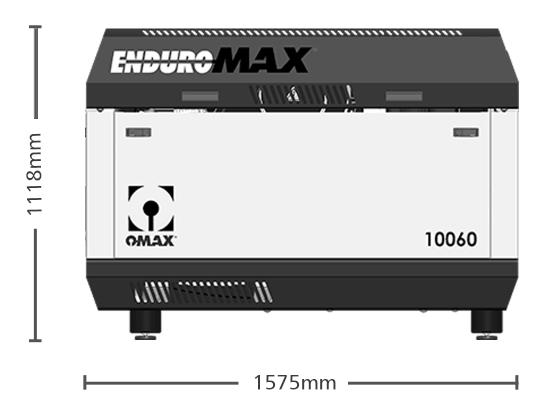 bomba enduromax 100hp com medida