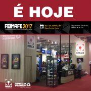 OMAX BRASIL na FEIMAFE 2017