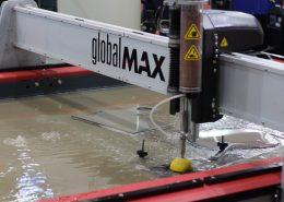 FEIMAFE 2017 - OMAX Brasil - máquina de corte a água GlobalMAX